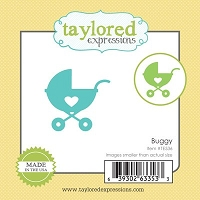Taylored Expressions - Cutting Die - Little Bits Baby Buggy