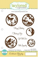 Taylored Expressions - Cling Mounted Rubber Stamp - Embrace Beauty