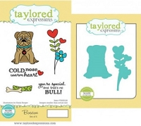 Taylored Expressions - Rubber Cling Stamps & Die Set - Boscoe