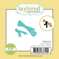 Taylored Expressions - Cutting Die - Little Bits Diploma
