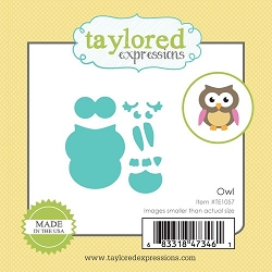 Taylored Expressions - Cutting Die - Little Bits Owl