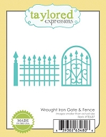 Taylored Expressions - Cutting Die - Wrought Iron Gate & Fence