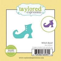 Taylored Expressions - Cutting Die - Little Bits Witch Boot