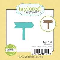 Taylored Expressions - Cutting Die - Little Bits Sign Post