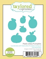Taylored Expressions - Cutting Die - Peek-a-Boo Pumpkins