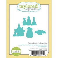 Taylored Expressions - Cutting Die - Tag-a-long Halloween