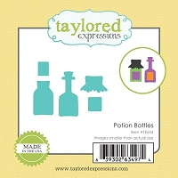 Taylored Expressions - Cutting Die - Little Bits Potion Bottles