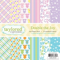 Taylored Expressions - 6x6 Paper Pad - Double the Joy