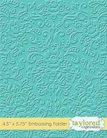 Taylored Expressions - Embossing Folder - Damask  :)