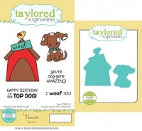 Taylored Expressions - Rubber Cling Stamps and Die Set - Tanner