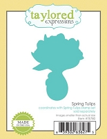 Taylored Expressions - Cutting Die - Spring Tulips