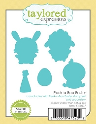 Taylored Expressions - Cutting Die - Peek-a-Boo Easter