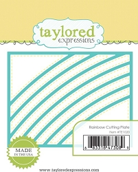 Taylored Expressions - Cutting Die - Rainbow Cutting Plate