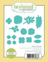 Taylored Expressions - Cutting Die - Fresh Florals