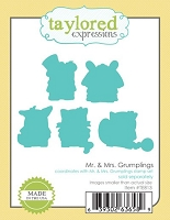 Taylored Expressions - Cutting Die - Mr. & Mrs. Grumplings Dies