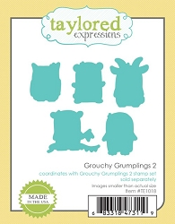 Taylored Expressions - Cutting Die - Grouchy Grumplings 2