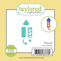 Taylored Expressions - Cutting Die - Little Bits Fireworks