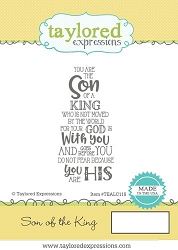 Taylored Expressions - Cling Mounted Rubber Stamp - Son of the King