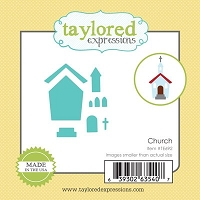 Taylored Expressions - Cutting Die - Little Bits Church