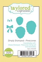 Taylored Expressions - Cutting Die - Simply Stamped Pinecones