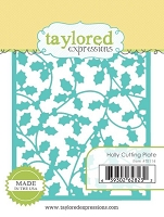 Taylored Expressions - Die - Holly Cutting Plate