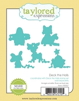 Taylored Expressions - Cutting Die - Deck The Halls