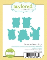 Taylored Expressions - Cutting Die - Grouchy Grumplings