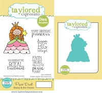 Taylored Expressions - Rubber Cling Stamps & Die Set - Pixie Dust