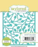 Taylored Expressions - Cutting Die - Berries Cutting Plate