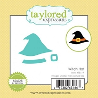 Taylored Expressions - Cutting Die - Little Bits Witch Hat