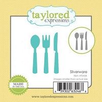 Taylored Expressions - Cutting Die - Silverware