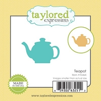 Taylored Expressions - Cutting Die - Teapot :)