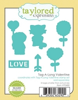 Taylored Expressions - Cutting Die - Tag-A-Long Valentine