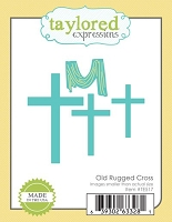 Taylored Expressions - Cutting Die - Old Rugged Cross