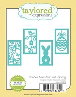 Taylored Expressions - Cutting Die - You've Been Framed Spring