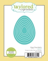 Taylored Expressions - Cutting Die - Egg Stacklets
