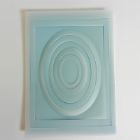 Tasha Armour Papercrafts - IOE Embossing Plates - Oval