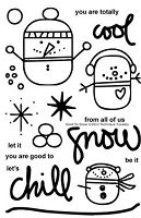 Technique Tuesday - Clear Stamp - Good To Snow