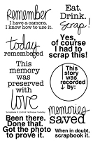 Technique Tuesday - Clear Stamp - Scrapbook It