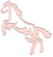 Tessler Crafts - Ellentina Cutting Die - Horse Jumping 1