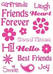 TPC Studio-Clear Stamp-Friends