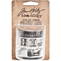 Advantus - Tim Holtz Idea-ology - Tissue Tape - Elements