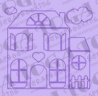 Toga Layout Scrapbooking Templates - House