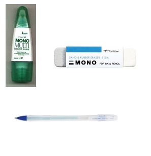 Adhesives & Eraser