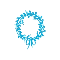 Tonic Studios - Cutting Die - Rococo Fern Garland Wreath