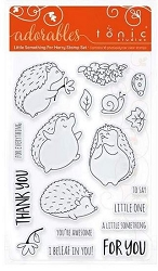 Tonic Studios - Clear Stamps - Adorables Little Something for Harry