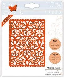 Tonic Studios - Cutting Die - Vibrant Damask Patterned Panels