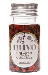 Tonic Studios - Nuvo Pure Sheen Confetti Sequins - Red Carpet Circles
