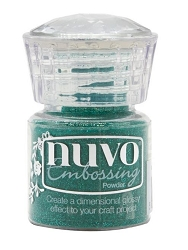 Tonic Studios - Nuvo Embossing Powder - Glimmering Green