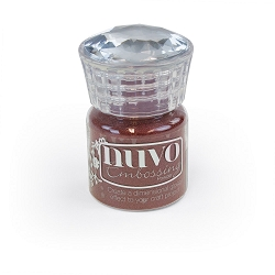 Tonic Studios - Nuvo Embossing Powder - Crimson Gloss